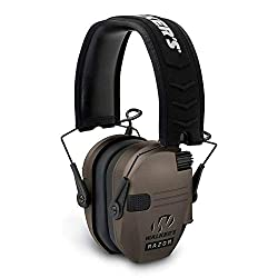 Walker's Razor Slim Electronic Hearing Protection Muffs with Sound Amplification and Suppression