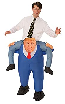 Rubie s unisex adult Inflatable Presidential Piggyback Sized Costumes As Shown One Size US