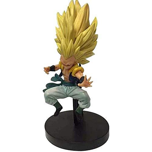 LINWX Anime Modelo Personaje Dragon Ball Super Saiyan Muñeca de Juguete Estatua Decoración Arte Regalos Creativos Decoración del Hogar Recuerdo Juvenil Escultura Adorno Regalo 20cm