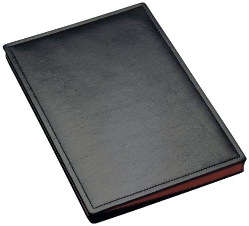 Läufer 34816 - Ambiente Modena, cartella firme, in vera pelle, 24 x 33,5 cm, nero