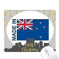 ニュージーランドの国が好きで クリスマスイブのゴムマウスパッド