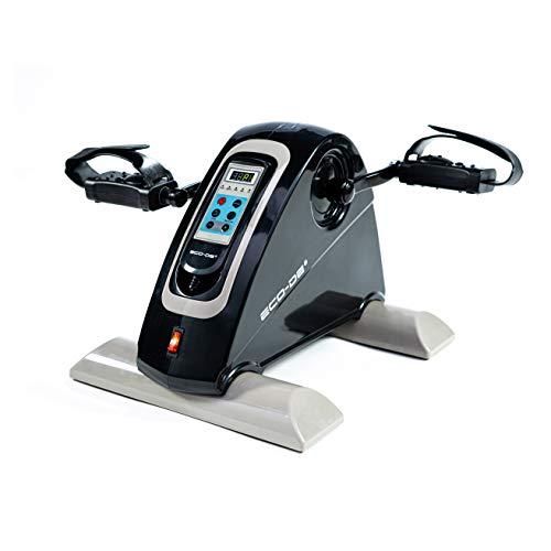ECODE Mini Bicicleta Eléctrica, 12 Velocidades, Mini Bike BlackPlus, Ejercicitador Brazos y Piernas, Modos Auto Reverse y Manual, ECO-801
