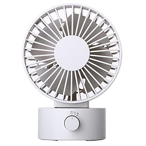 Pequeño ventilador de escritorio Mini USB Ventilador recargable de verano Inicio de verano Emno de escritorio Ventilador al aire libre Radiador silencioso Acondicionador de enfriamiento de viento fuer