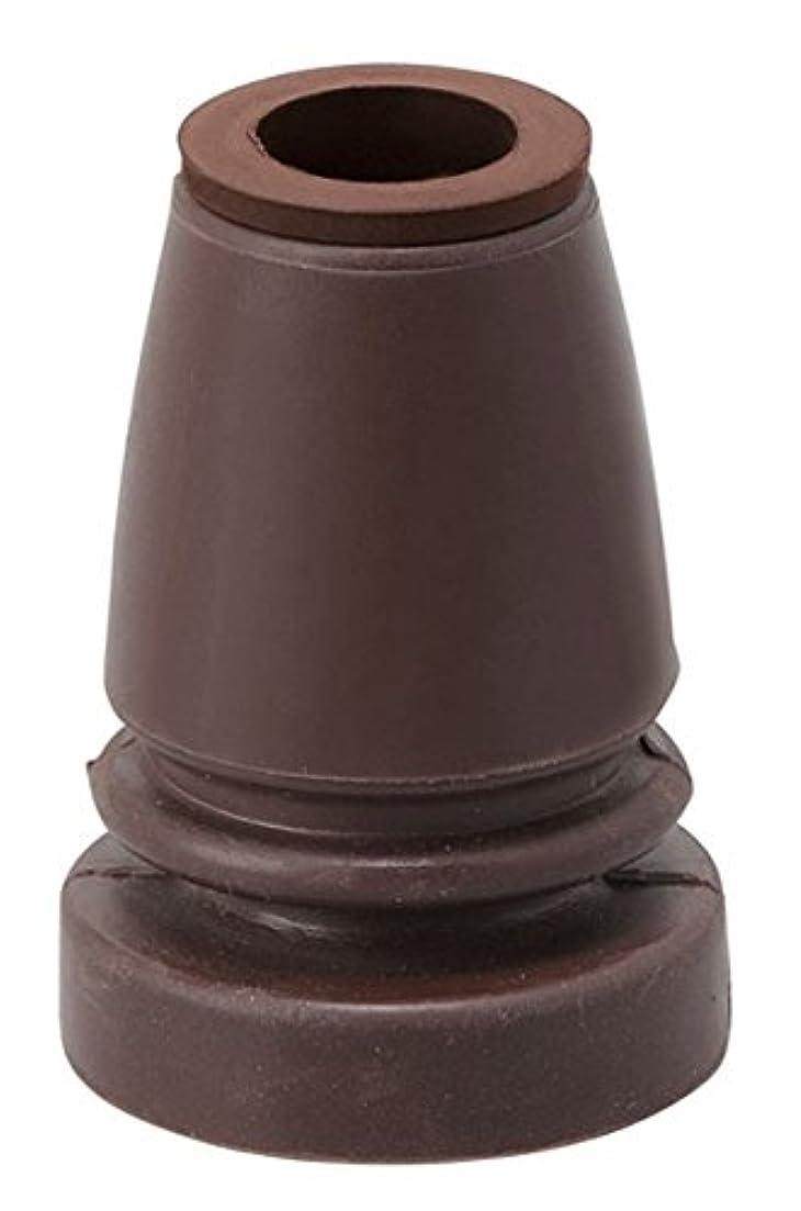 はぁ法医学変換する幸和製作所 杖用取替えゴム(フレキシブルタイプ) ブラウン G-10BR