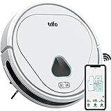 Robot Aspirador, Robot Aspirador Pelos Animales, Aspirador Robot Trifo 3000 Pa, 110 Min de Autonomía, Monitoreo Inteligente, Carga Automática, Chat de Voz, Controlado a través de Wi-Fi/Alexa/APP Trifo
