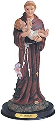 StealStreet SS-G-312.14, 12 Inch Saint Anthony Holy Figurine Religious Statue Decor, 12""