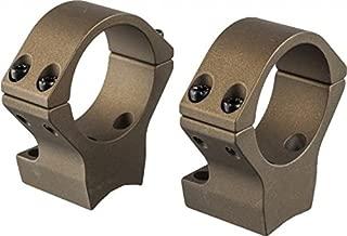 Talley 30mm X-Bolt Medium Hells Canyon Riflescope Rings, Burnt Bronze Cerakote, HC740735