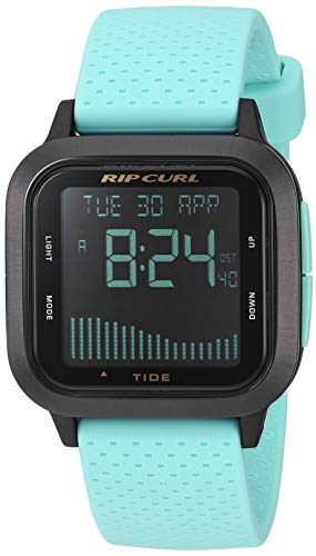Rip Curl Women's Quartz Sport Watch with Silicone Strap, Blue, 20.8 (Model: A1139GMIN1SZ)