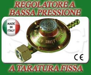 Sconosciuto REGOLATORE Bassa Pressione per CUCINE FORNELLONI STUFE Barbecue A Gas GPL