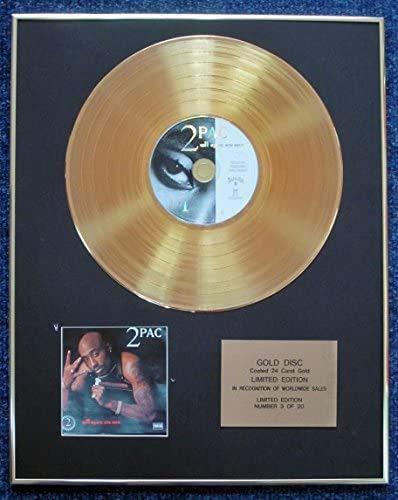 Century Presentations 2Pac – Ltd Edition CD 24 Karat vergoldet – All Eyez on Me