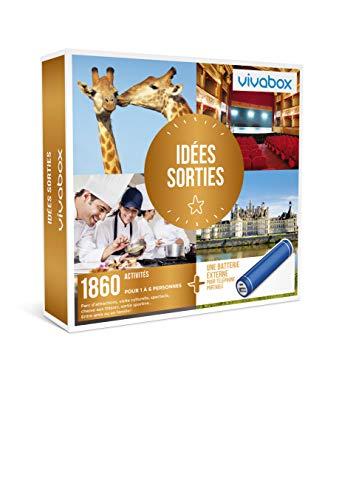 Vivabox - Coffret cadeau loisirs - IDÉES SORTIES - 1860 activités culture + 1 batterie externe