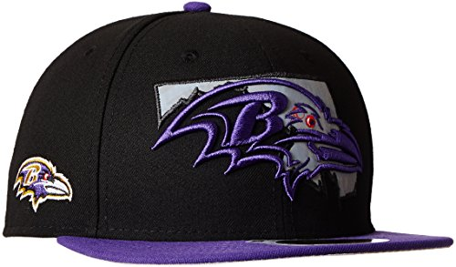 NFL hombre New Era de Dori Estado reflectante 59FIFTY gorra ajustada