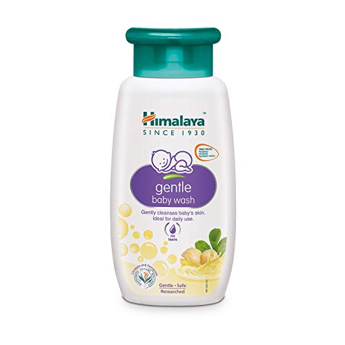 Himalaya Gentle Baby Bath, soothes and nourishes baby skin, 200 ml (3 PACK)