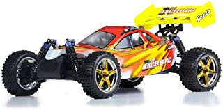 Exceed RC 1/10 2.4Ghz Forza .18 Engine RTR Nitro Powered Off Road Buggy (Fire Red) Starter KIT Required and Sold Separately