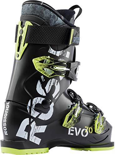 Rossignol Evo 70 Ski Boots Black/Yellow Mens Sz 9.5 (27.5)