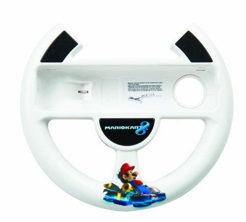 PowerA Wii U Mario Kart 8 Racing Wheel - Nintendo Wii U