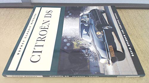 Citroen Ds (Osprey Classic Marques)