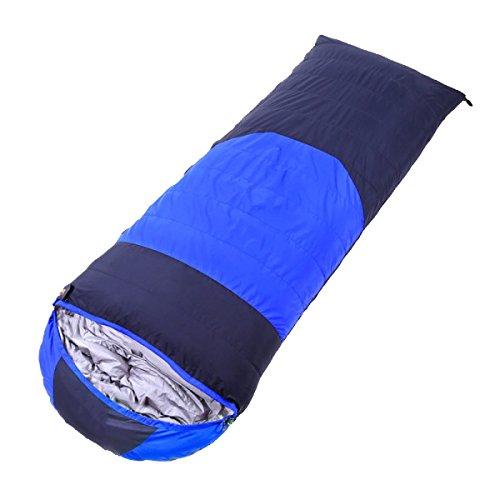 Type D'enveloppe Xin.S Peut être épissée Sacs De Couchage Chaud Plus épais Escalade En Plein Air Camping Pause Déjeuner Intérieur Sacs De Couchage Camping Multifonctionnel,Blue-(180+30)*80cm