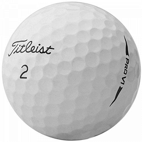 lbc-sports LbcGolf 50 Titleist Pro V1 - AAAA - AAA - Modell 2018 - Weiss - Lakeballs - gebrauchte Golfbälle - Teichbälle