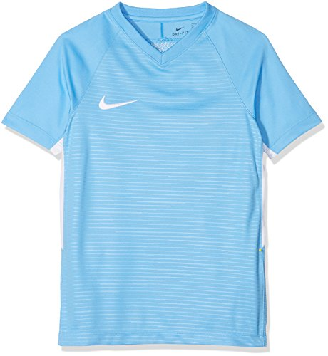 Nike Unisex Jungen Tiempo Premier SS Trikot T-shirt, Blau (university blue/White/412), Gr. S
