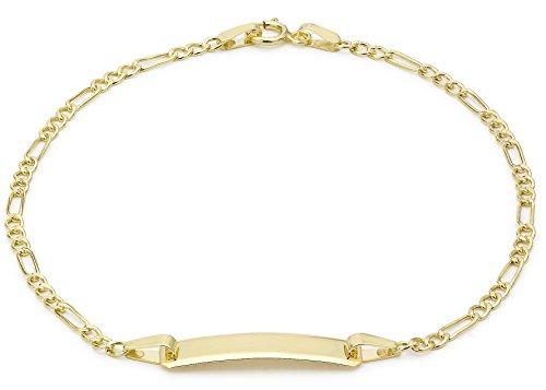 Carissima Gold Damen-Armband 9 Karat (375) Gelbgold yellow gold 18cm/7inch 1.29.0081