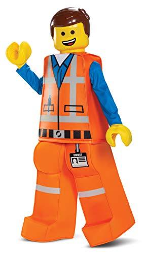 Disguise Emmet LEGO Movie 2 Prestige Boys' Costume