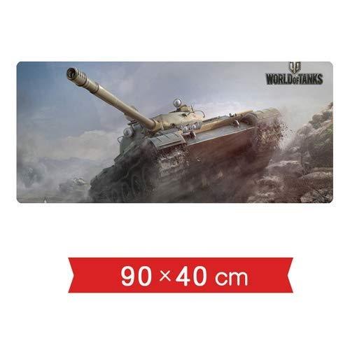 Mauspads Tischsets World of Tanks WOT-Spielfahrzeuge 140 Projekte Mittlere Panzer Testpanzer EIS- und Schneeabfälle Übergroße Tasten Rutschspiel Mauspads Schreibtische Laptop-PC-Peripheriegeräte