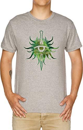 Vendax Los Inquisición Camiseta Hombre Gris