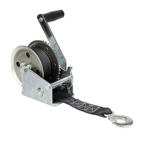 JCMYSH Craña de cabrestante de Poder 600-250 0LBS El cabrestante del Manual del cabrestante se Puede Arreglar (Color : 600LBS)