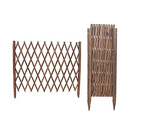 GJNVBDZSF Résistant à la Corrosion en Bois de barrière de barrière de Piscine de Fleur Facile à Installer Stable imperméable