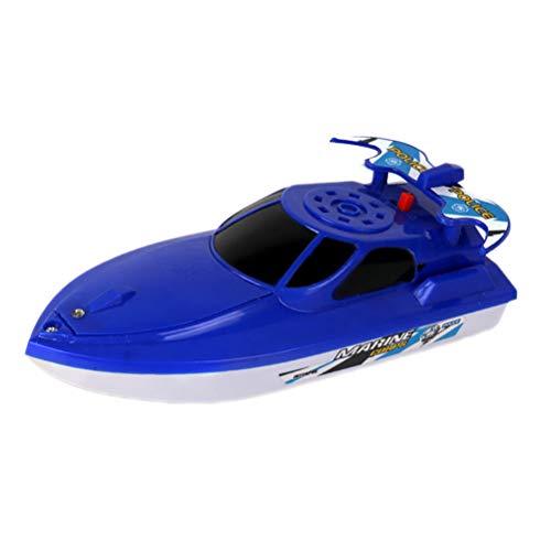 BSTCAR Schnellboot Spielzeug, Badespielzeug Batteriebetriebenes Wasserboot Spielzeug Boot Badespielzeug Badewannenspielzeug Wasserspielzeug für kleines Schwimmbad