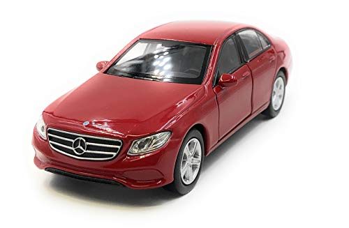 Onlineworld2013 Modèle de Voiture E400 E-Class Sedan Red Car Scale 1: 34-39 (licencié)