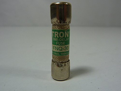Tron FNQ-30 Time Delay Fuse 30A 500V Lot of 1