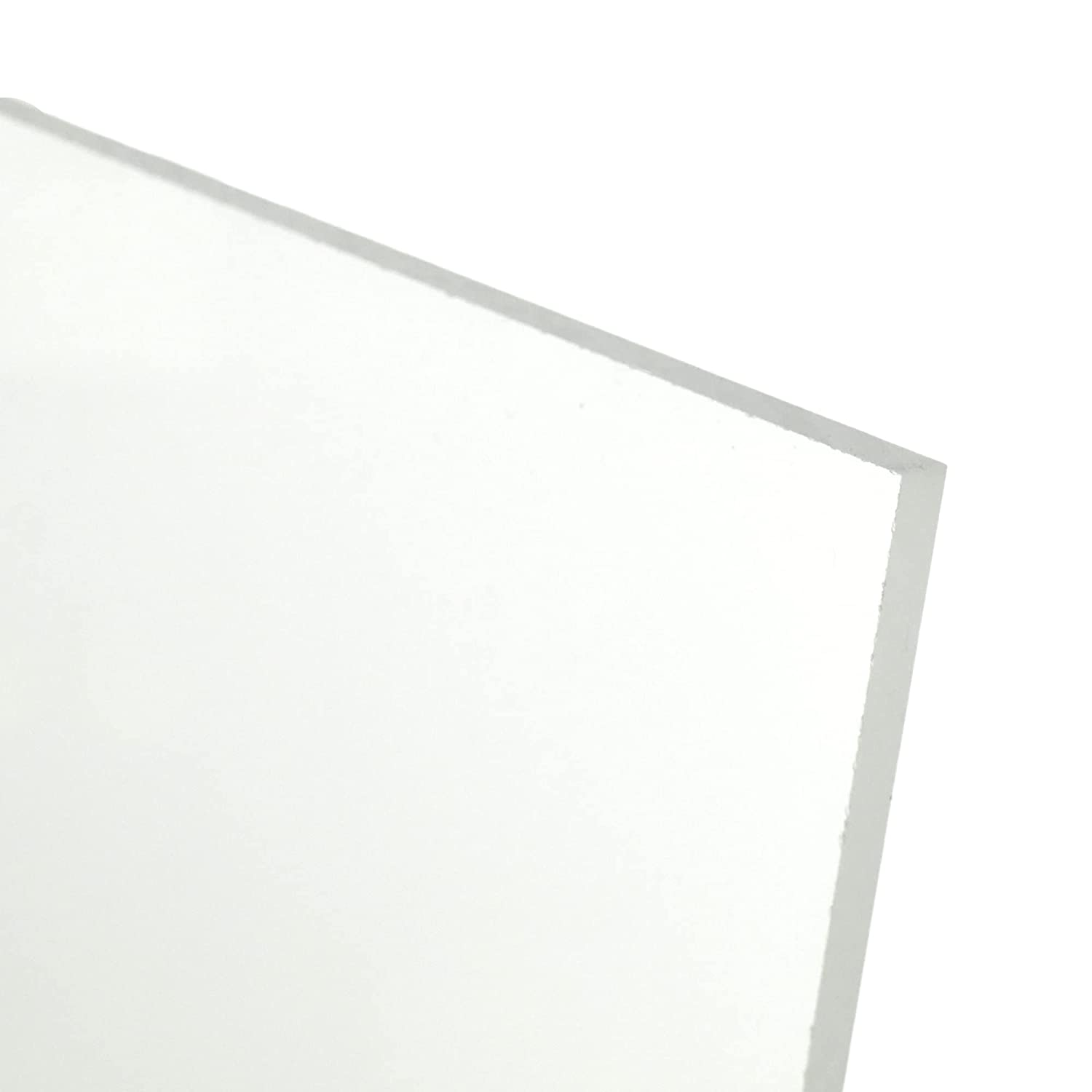 BuyPlastic Frosted Colorless Acrylic 2021 model Plexiglass Plastic Sheet Very popular