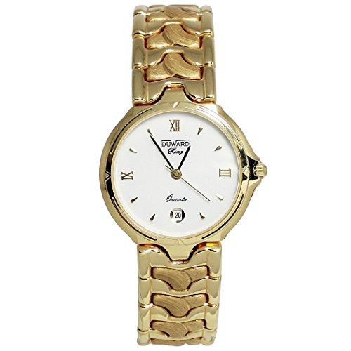 Reloj Duward King Oro 18K Mujer R11759 Redondo Armys [6074] - Modelo: King Oro 18K