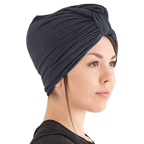 Womens Chunky Turban Headband Headscarf Winter Head Wrap Chemo Hat Natural Hair