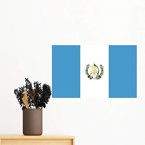 DIYthinker Guatemala Nationale Vlag Noord-Amerika Land Symbool Mark Patroon Verwijderbare Muursticker Art Decals Mural Diy Wallpaper Voor Room Decal