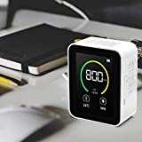 Measuring Instrument for Interiors, Air Quality Monitor CO2, Luftqualitätsanalysator with Temperature Humidity Display