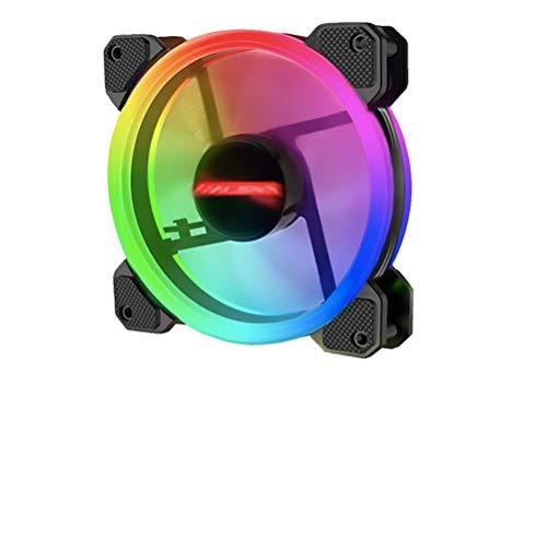 Ventilador de la computadora Caja de PC RGB Ventilador de refrigeración