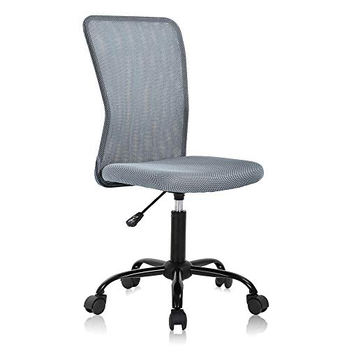 Ergonomic Desk Chair Mid Back Mesh Chair Height Adjustable...