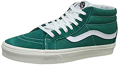 Vans Skate Shoe (Men 4/Women 5.5, Cadmium Green 7295)