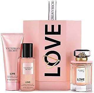 Victoria's secret LOVE eau de parfum 3 pcs gift set