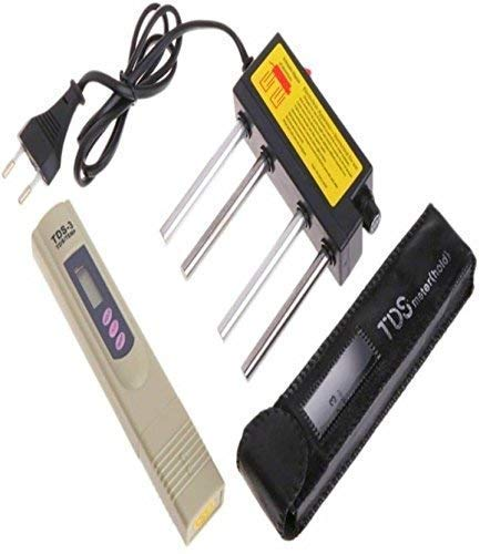 K M Digital TDS Meter & Electrolyzer Check Water Purity/Quality Tester