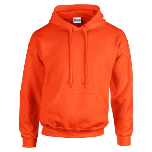 Gildan Heavy Blend Felpa, Arancione (Orange 000), 2XL Uomo