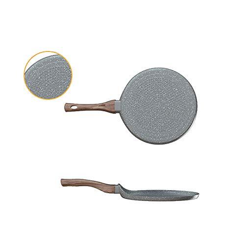 HARLIANGXY - Sartén para crepes (22 cm de diámetro, granito gris)