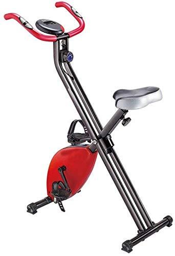 Bicicleta de spinning Control magnético Goodvk-deporte ciclismo bicicleta de interior mini bicicleta estática aparatos de ejercicios ultra silencioso de dos vías plegable Spinning ejercicio vitalidad