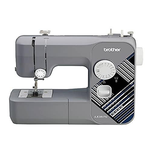 Brother RLX3817G 17-Stitch Sewing Machine (Gray) (Renewed)