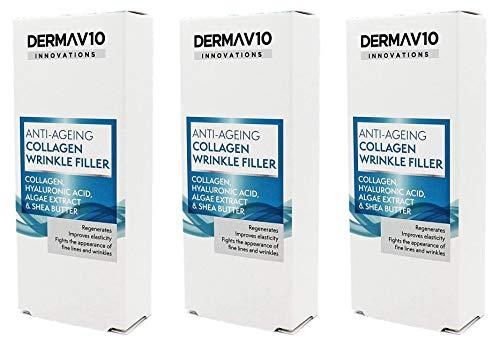 Derma V10 Anti-Ageing Collagen Wrinkle Filler With...