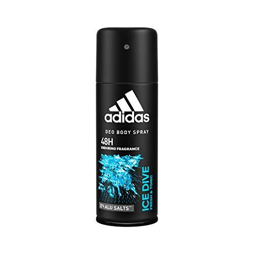 Adidas Ice Dive - Desodorante en spray para hombre, 150 ml