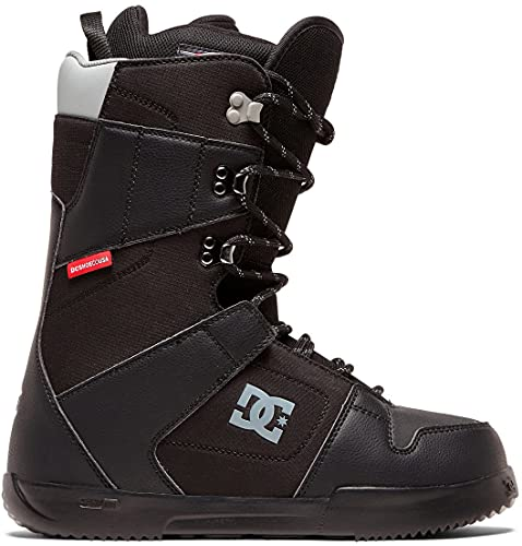 DC Shoes Mens Phase Lace Up Snowboard Boots, Black, 11.5